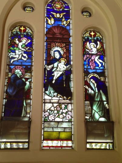 Stained Glass Window Heathcote church